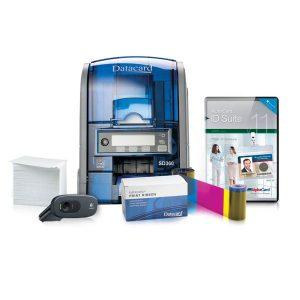 Sd 360 çift yüz kart baskı makinası