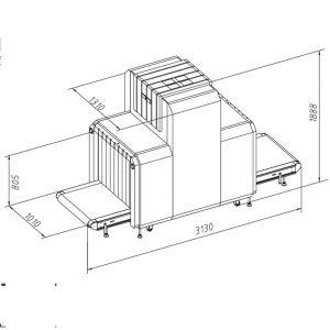 PG 10080 Plus X-Ray Arama Cihazı 1