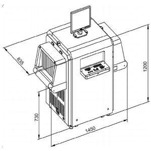 PG 5030C Plus X-Ray Arama Cihazı 1