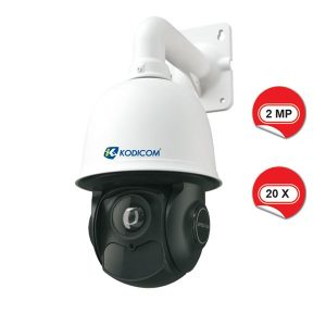 kodicom kd 9622 e2 20x speed dome ip kamera